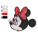 Minnie Mouse Cartoon Embroidery 24